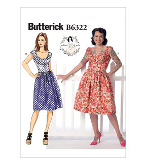 Butterick Misses Dress-B6322