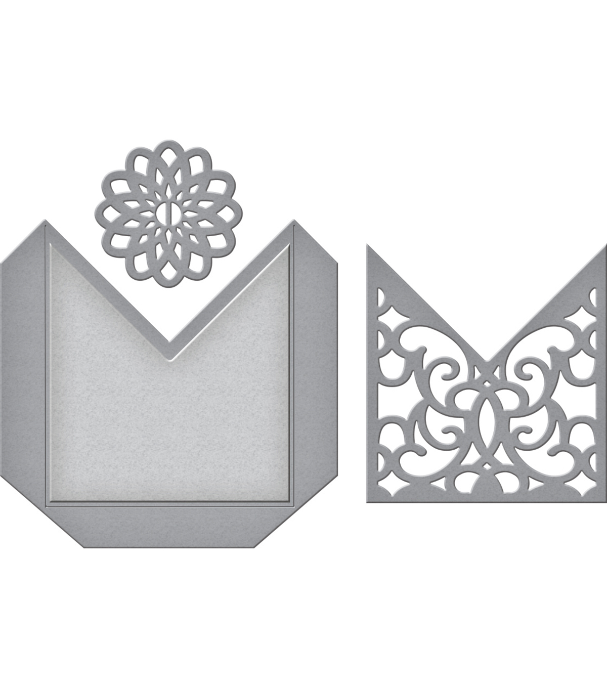 Spellbinders Shapeabilities Etched Die-Filigree Pocket