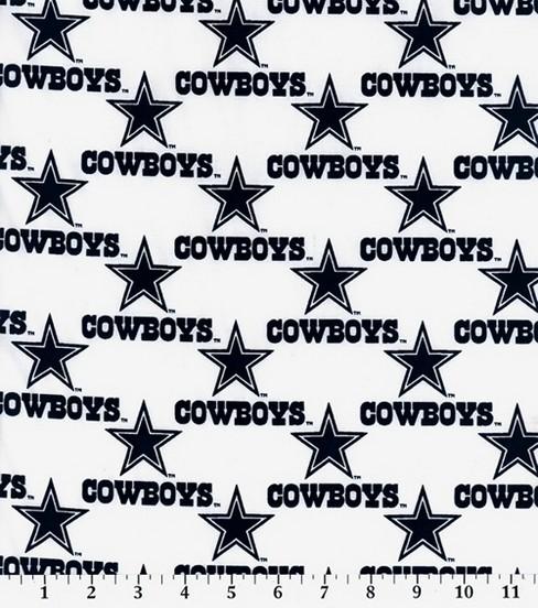 Dallas Cowboys Cotton Fabric 58