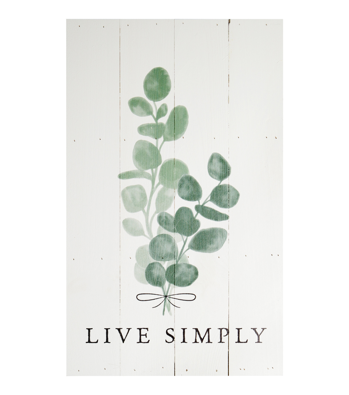 Simply Spring Boxed Pallet Wall Decor-Live Simply