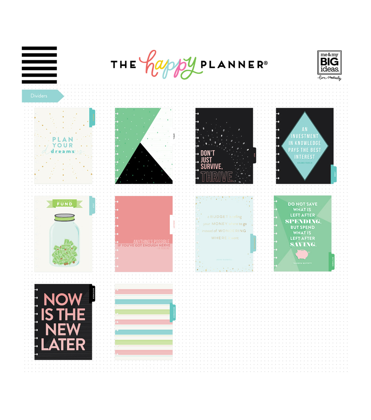 The Happy Planner 18 Month Budget Edition Planner-Progress