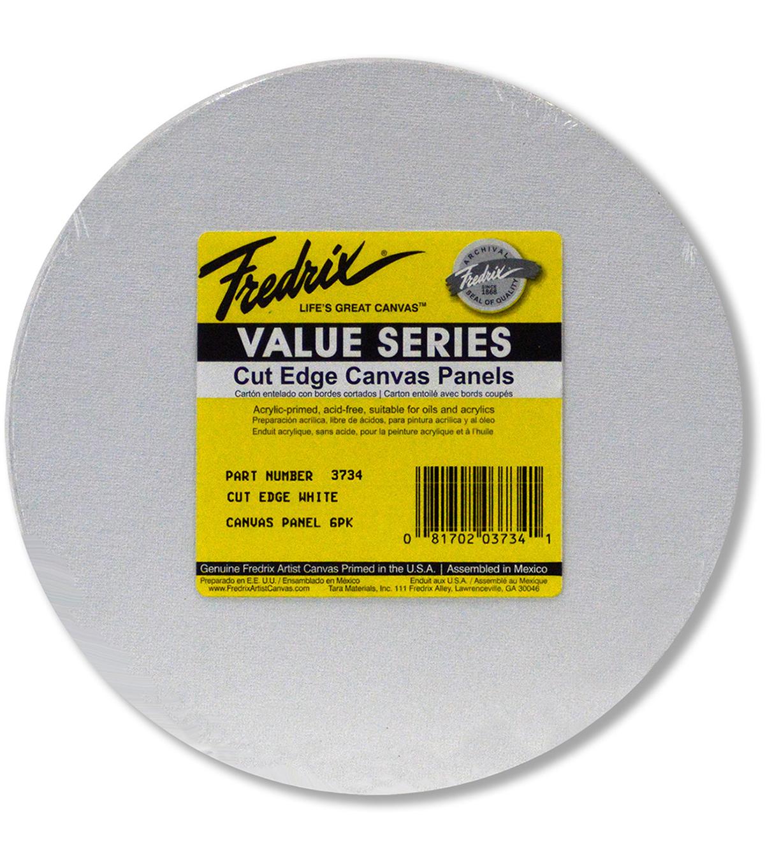 fredrix round cut edge canvas panel 8 joann