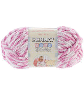 Bernat Baby Blanket Twists Yarn-Pink Twist Multipack of 6