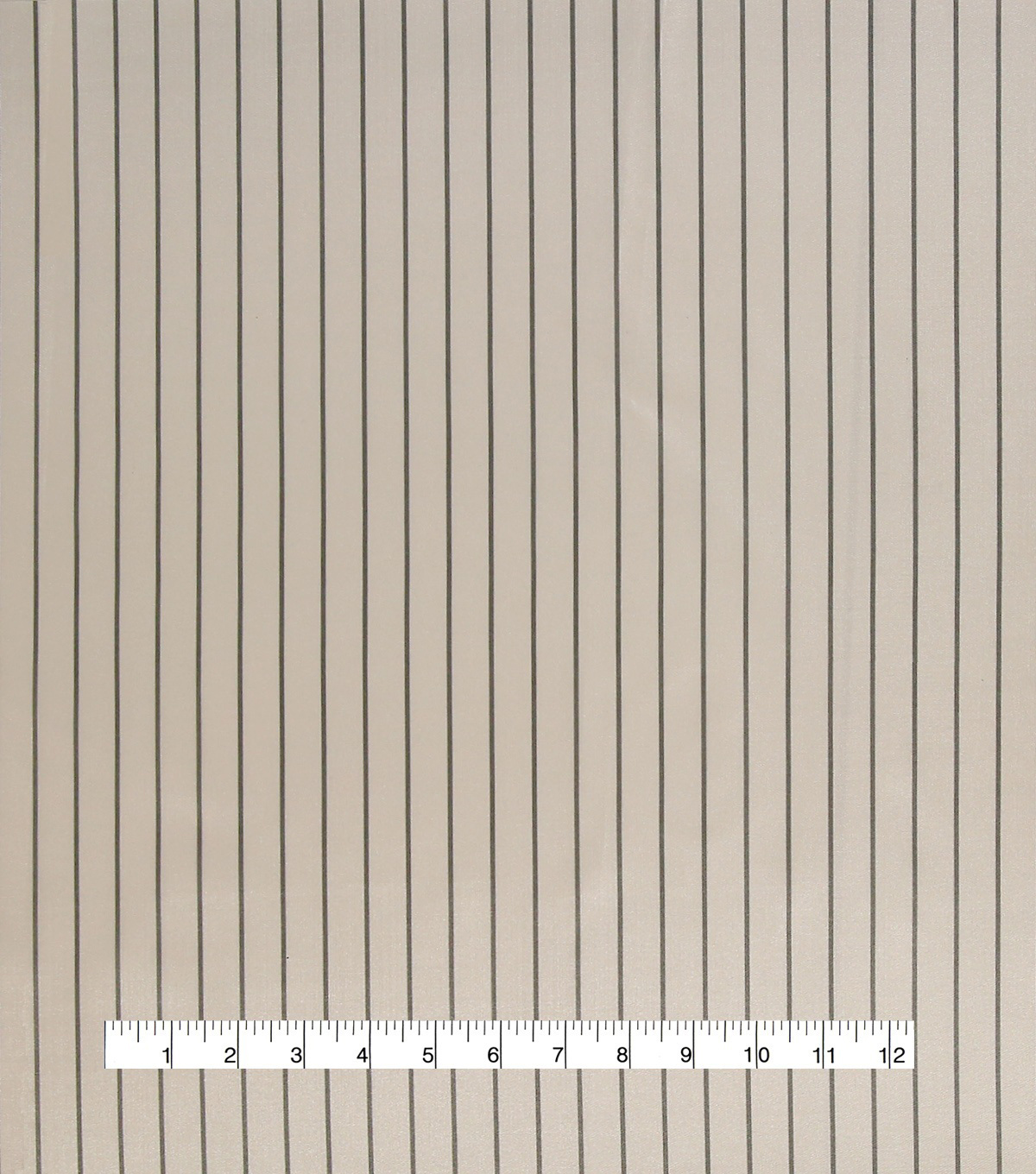 Anti-Static Lining Fabric 58\u0022-White Stripe on Gray