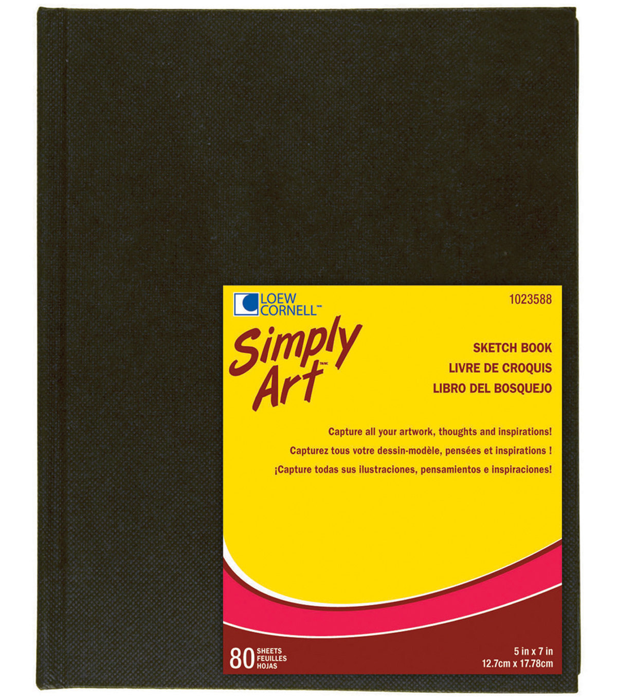 Simply Art Archival Sketchbook 80 Sheets-5-1/4\u0022x7-1/4\u0022