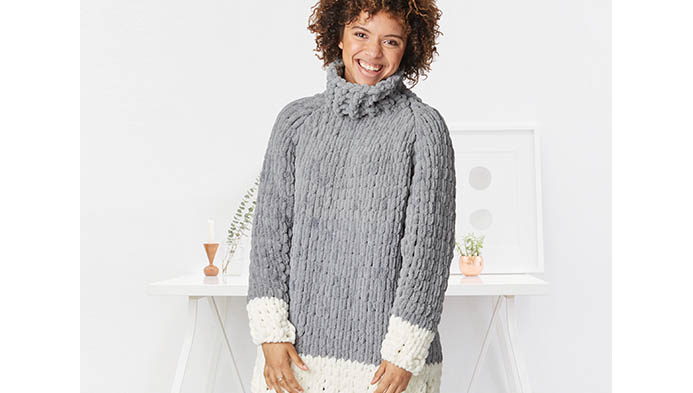 Loop Yarn Sweater