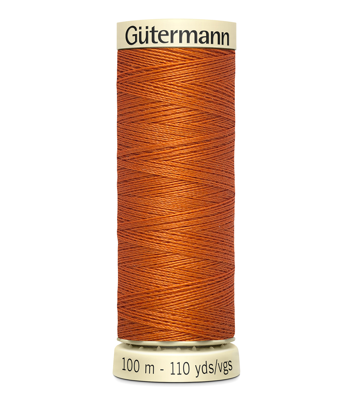 Gutermann Sew All Polyester Thread 110 Yards-Oranges & Yellows , Carrot