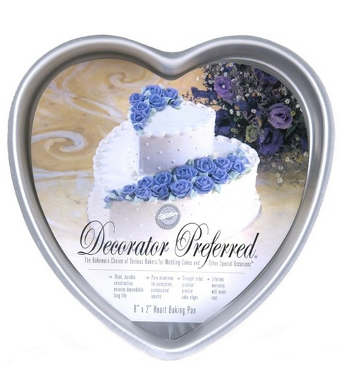 Wilton Decorator Preferred 8\u0022 Heart Pan