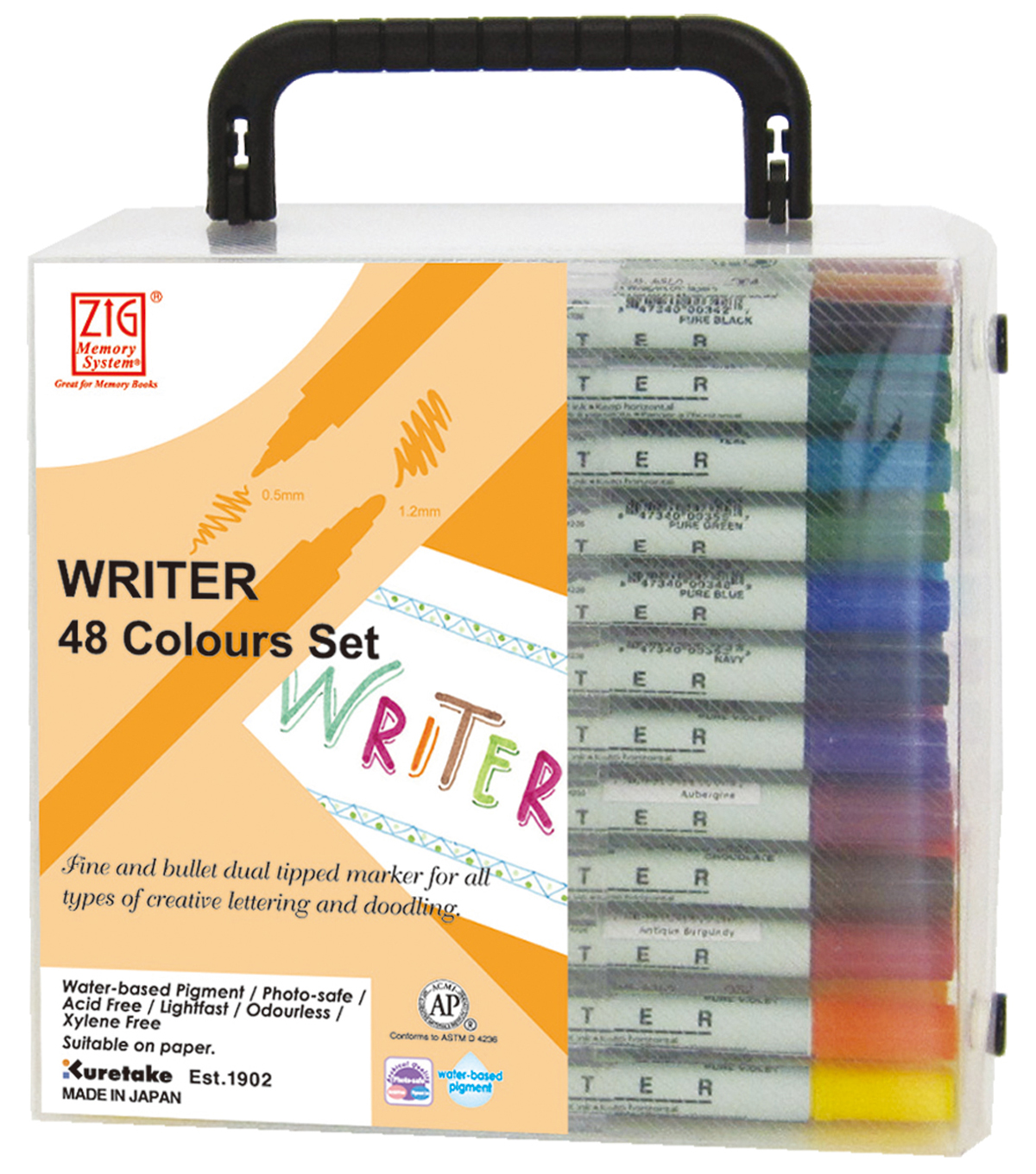 Zig Memory System Writer Dual-Tip Markers