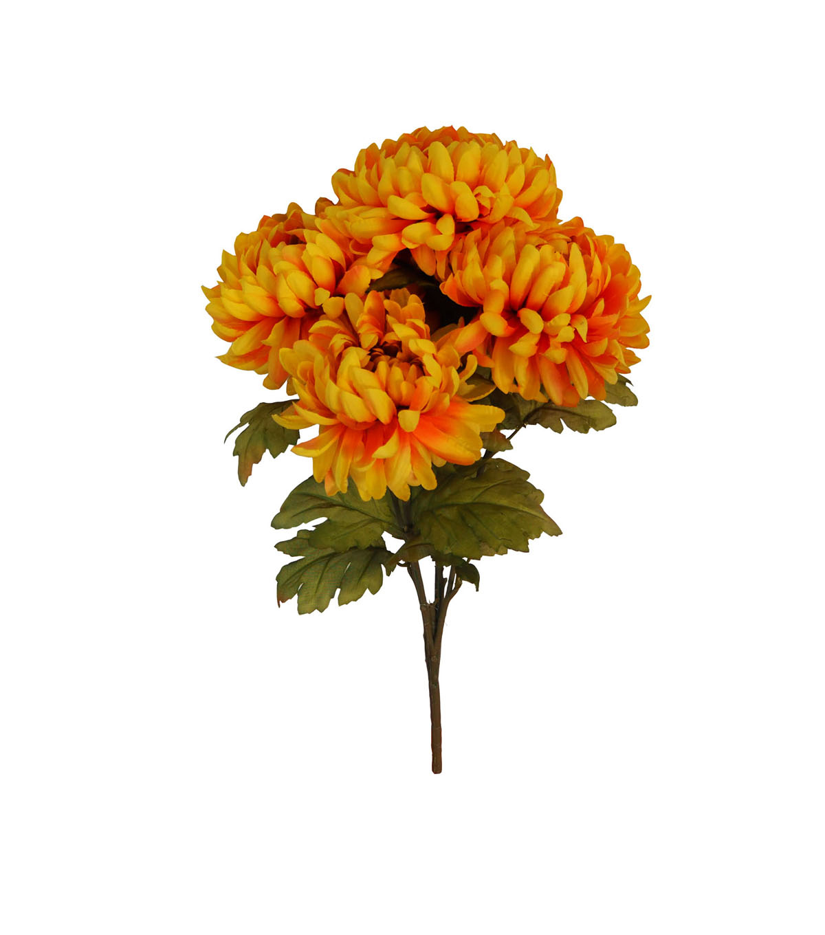 Blooming Autumn Water Resistant Mum Bush-Yellow