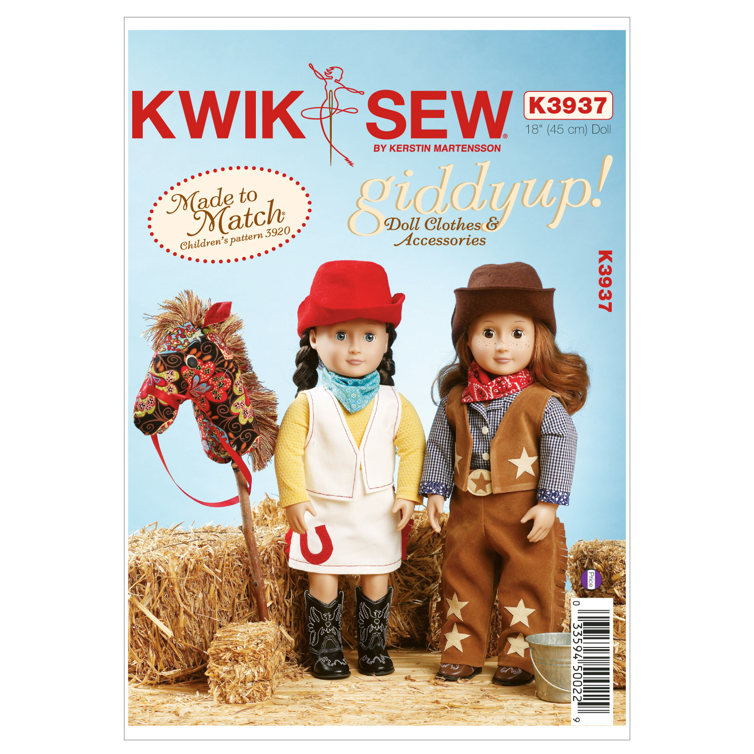 Kwik Sew Crafts Doll Clothes-K3937