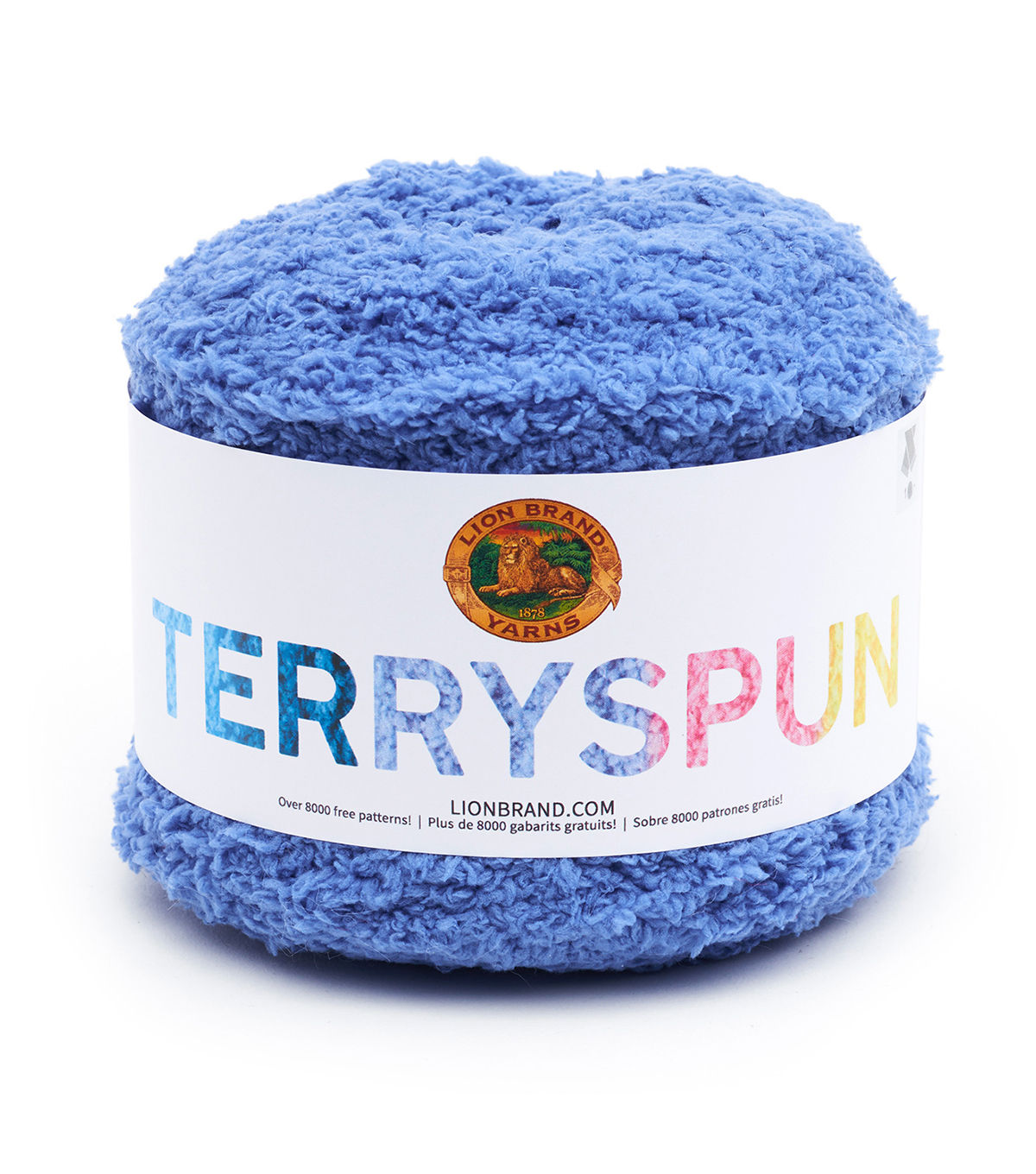 Lion Brand Terryspun Yarn, Blue Chips