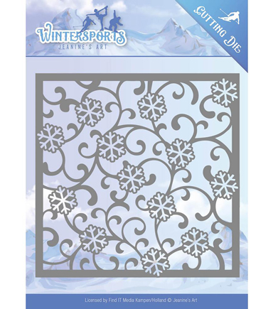 Find It Trading Jeanine\u0027s Art Wintersports Cutting Die-Snowframe