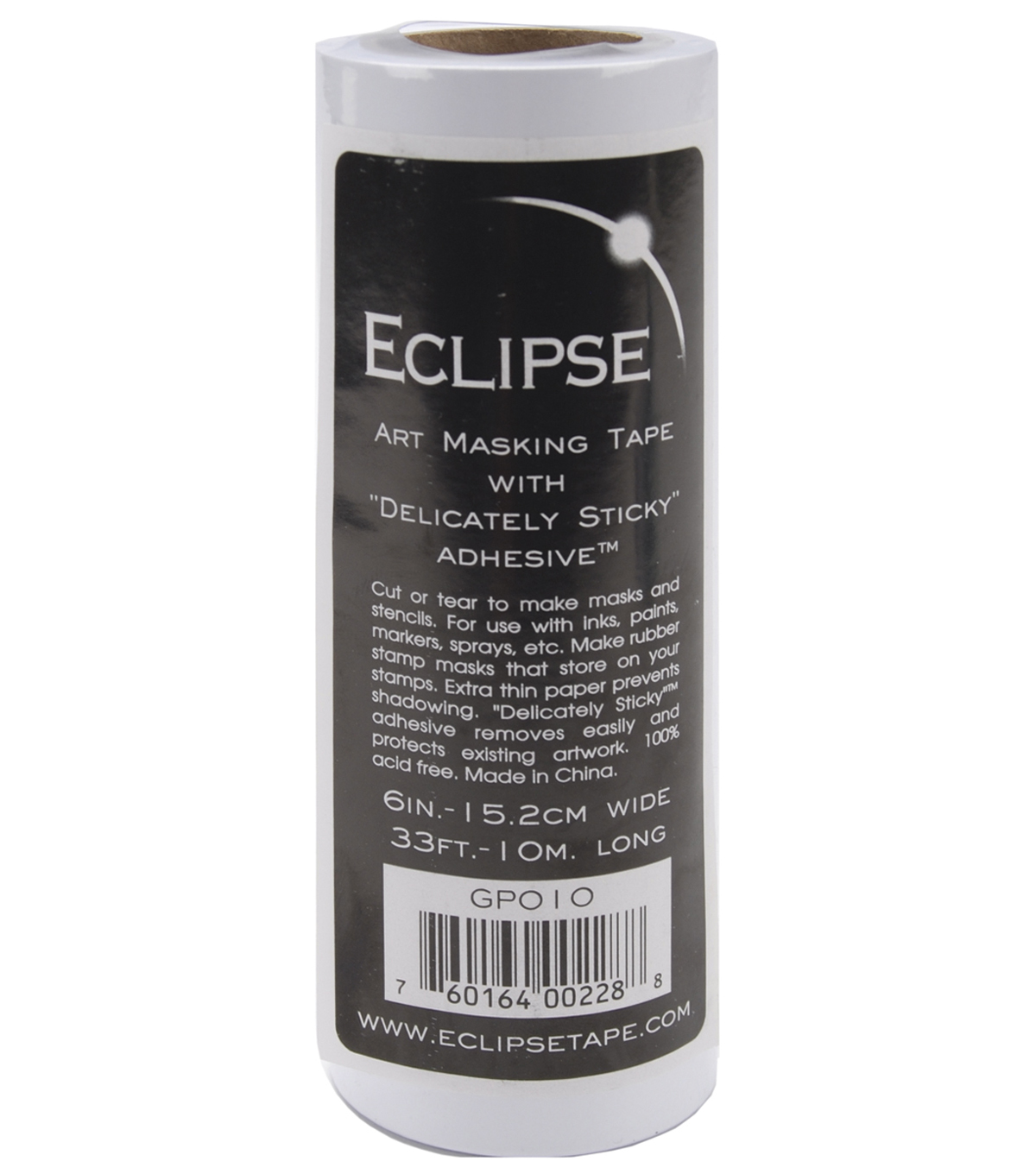 Eclipse 15.2cm x 1m Art Masking Tape Roll