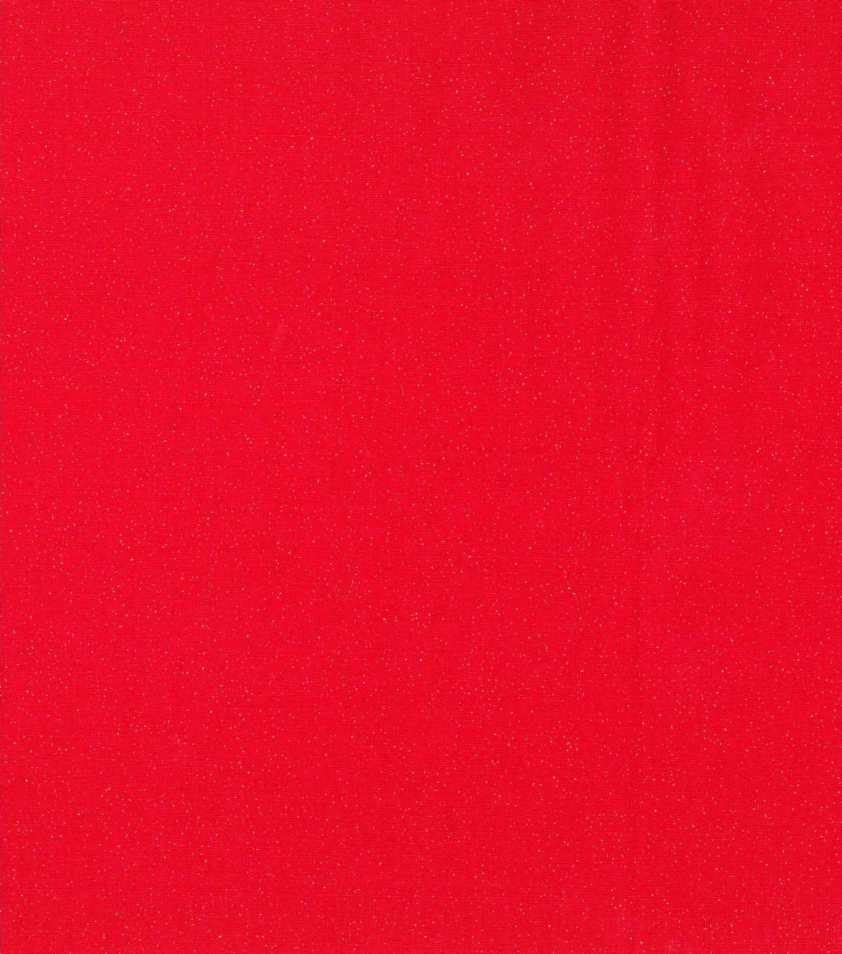 Keepsake Calico Cotton Fabric-Silver Glitter on Red
