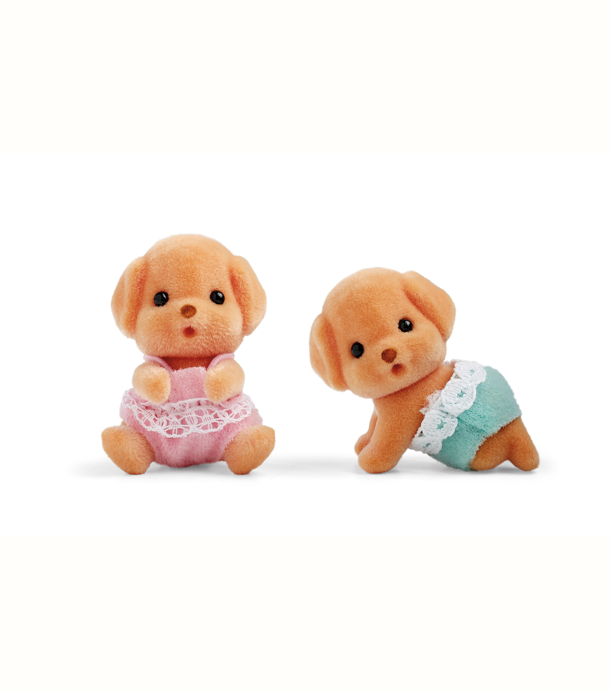Calico Critters 1.75\u0027\u0027 Toy Poodle Twins