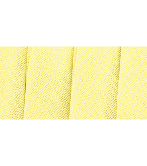 Wrights Extra Wide Double Fold Bias Tape, Fld B Lemon Ice