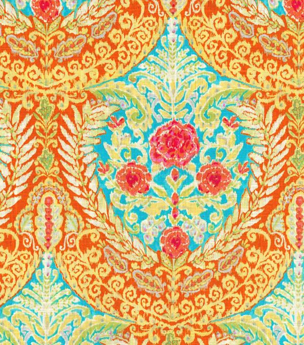 Dena Home Multi Purpose Decor Fabric 54u0022 Mural Floral Sundance