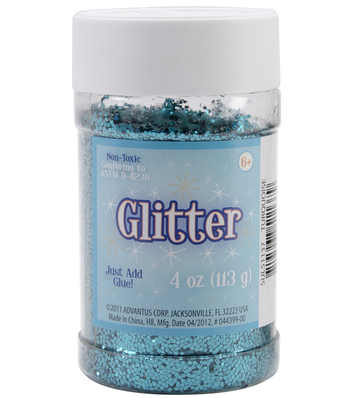Metallic Glitter 4 Ounces