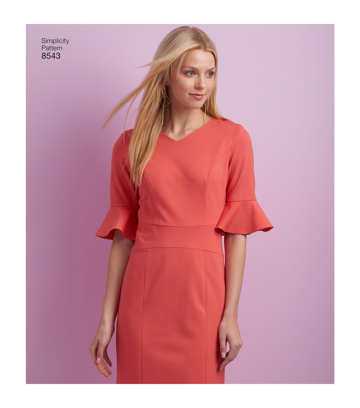 Simplicity Pattern 8543 Misses\u0027 & Women\u0027s Dress-Size AA (10-12-14-16-18)