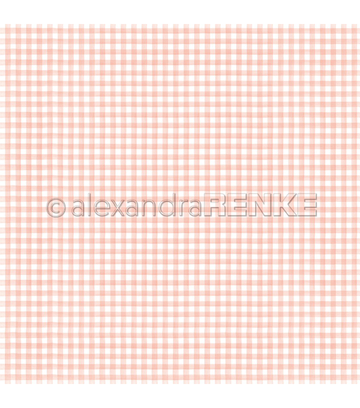 Alexandra Renke Cooking Paper 12\u0022X12\u0022-Kitchen Square Rose