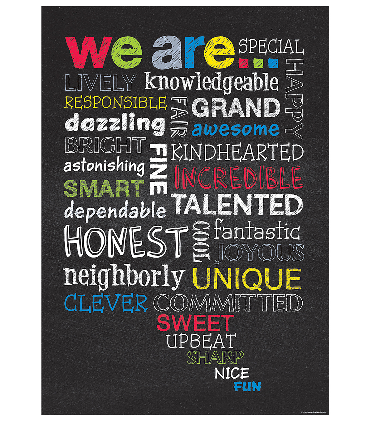 We Are???Inspire U Poster