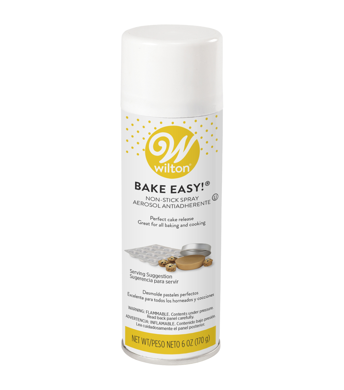 Wilton Bake Easy! Non-Stick Spray-6 Ounces