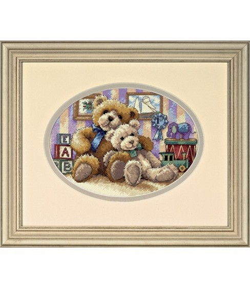 Dimensions Counted Cross Stitch Kit Warm & Fuzzy Petite