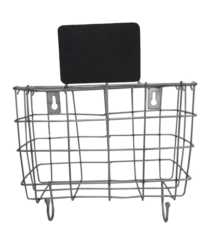 Hudson 43 Pure Small Metal Wire Wall Basket with Chalkboard | JOANN