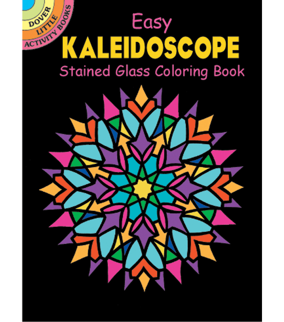 Kaleidoscope Stained Glass Coloring Book for Adults | JOANN