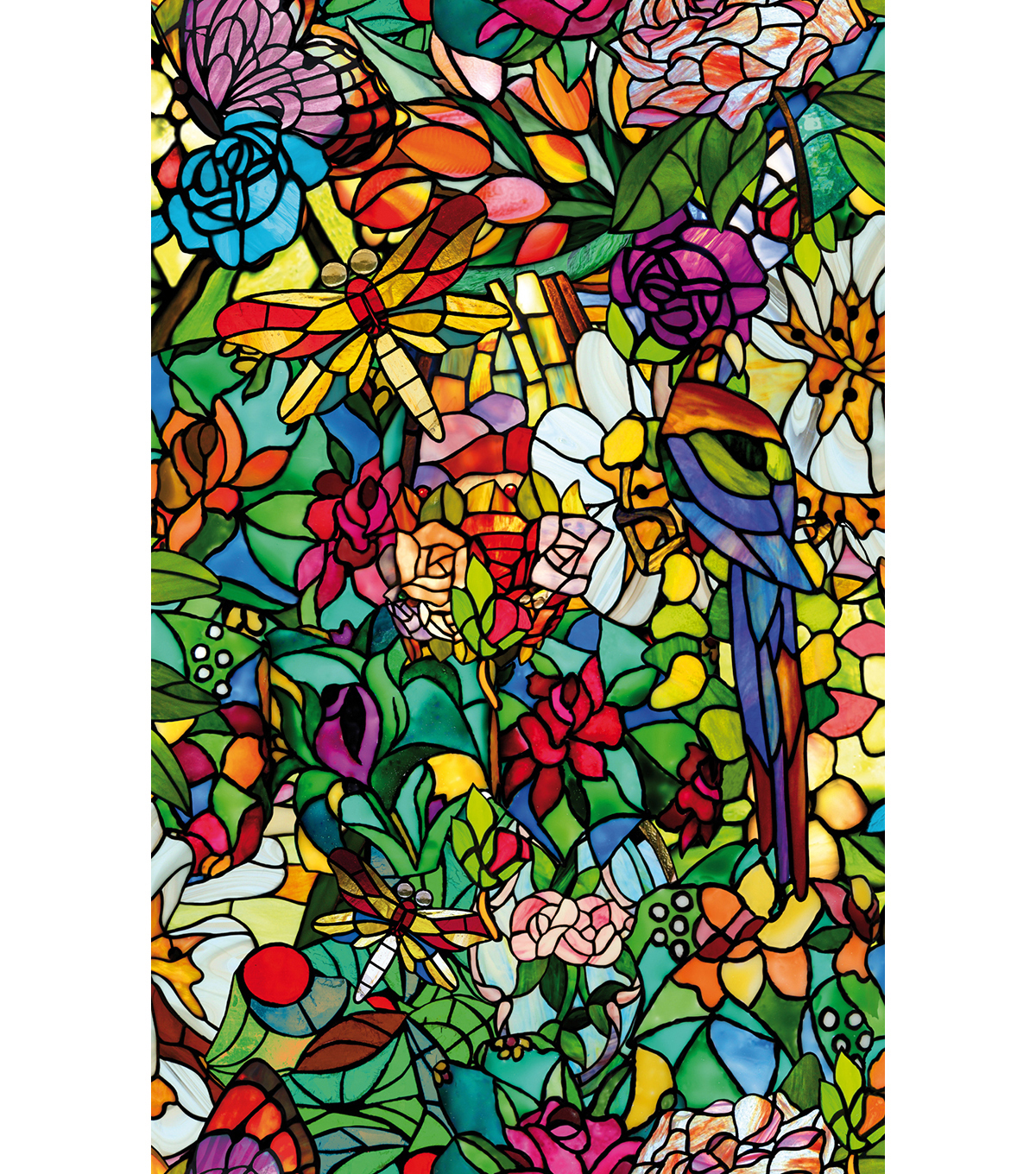 Peel & Stick 2pk Window Film-Spring Chapel