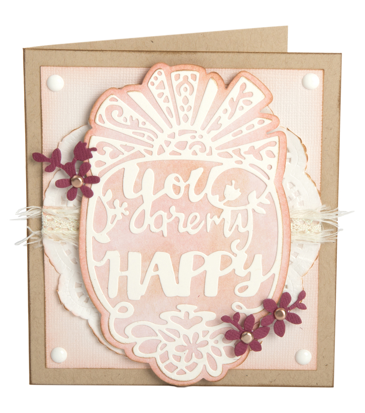 Sizzix Thinlits 4 Pack Dies-You Are My Happy