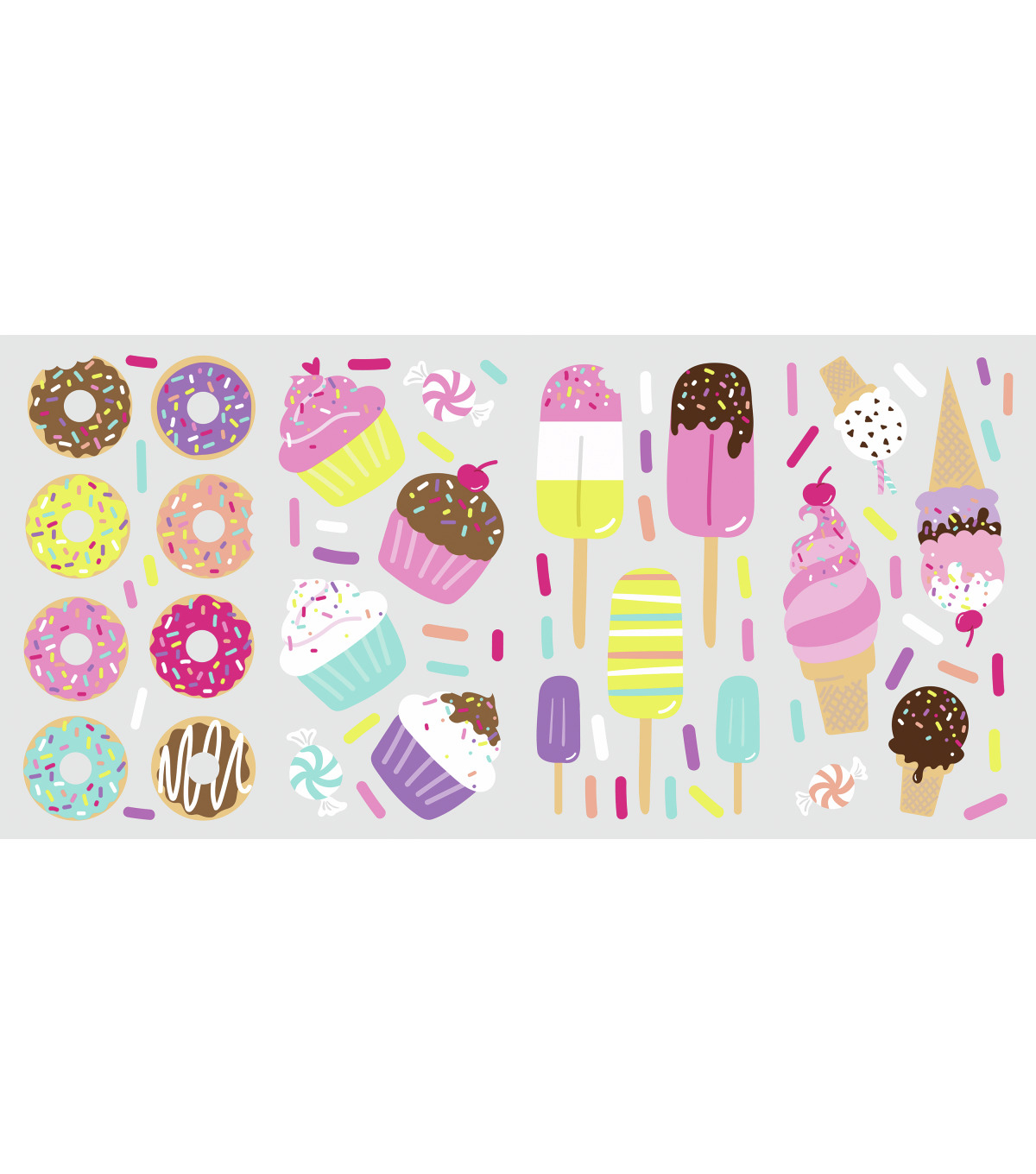 York Wallcoverings Wall Decals-Sweet Treats