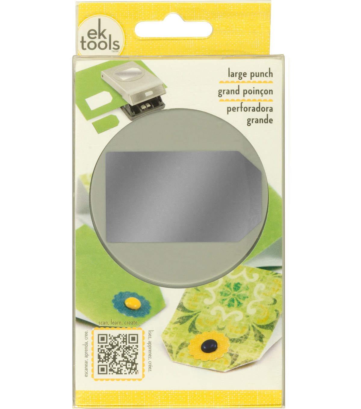 Large Punch-Tag, 2.5\u0022