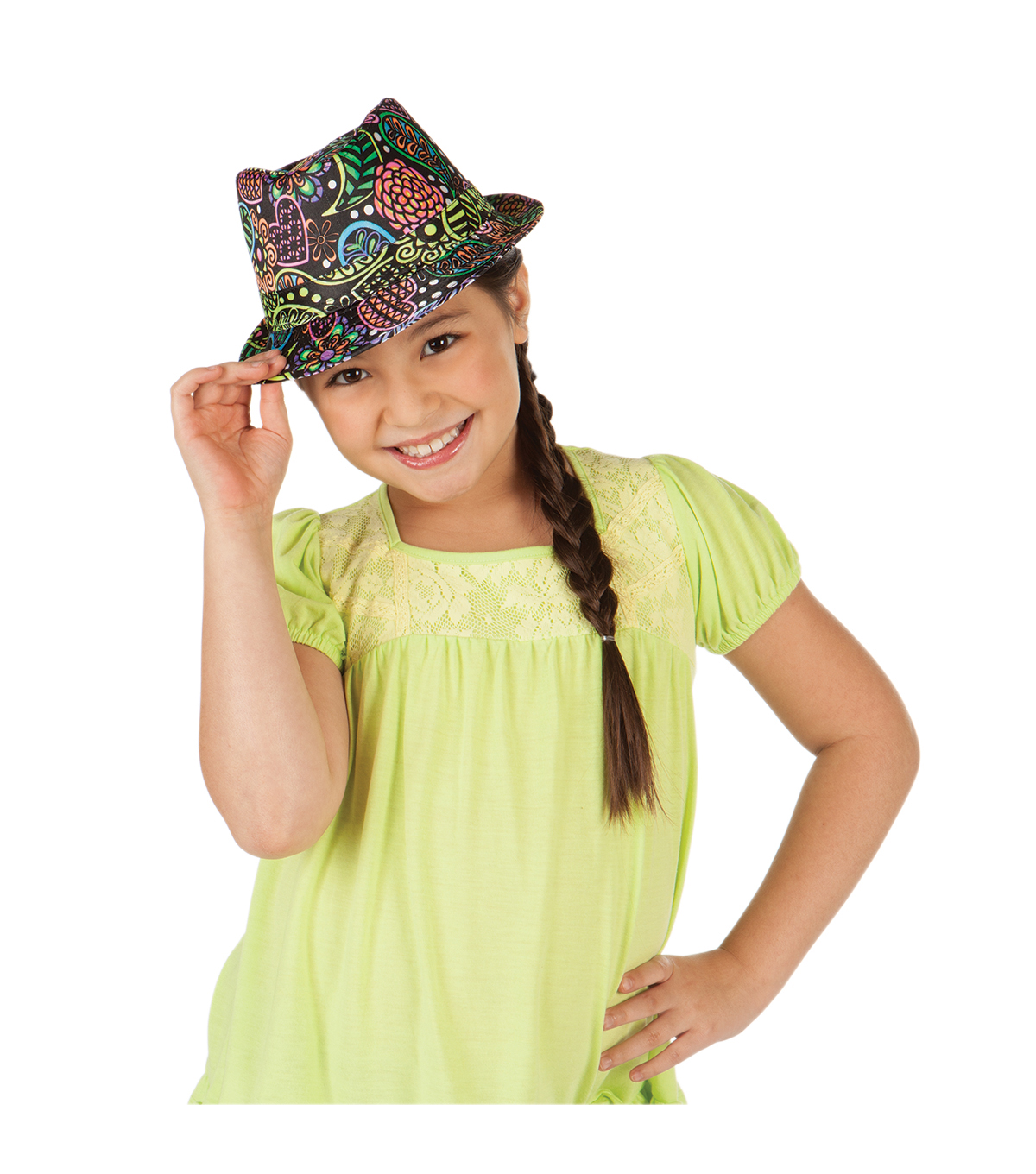 Creativity For Kids Fedorable Fashion Kit