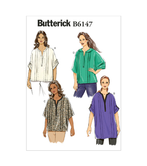 Butterick Women\u0027s Top-B6147