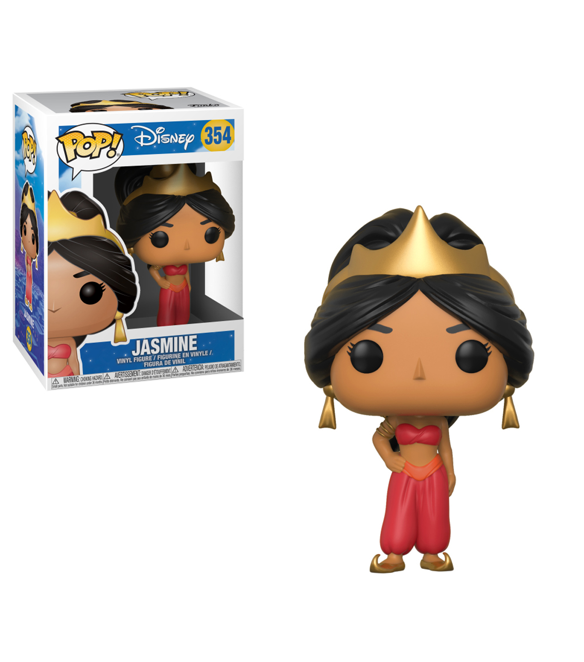 Pop! Disney Aladdin-Jasmine Red