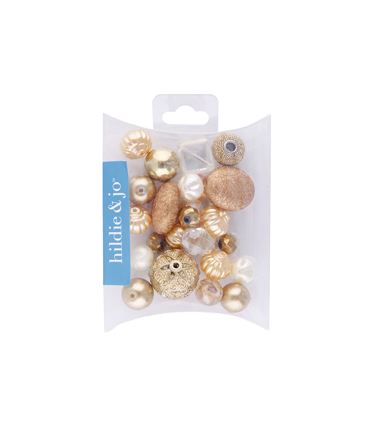 hildie & jo Mix Beads-Gold