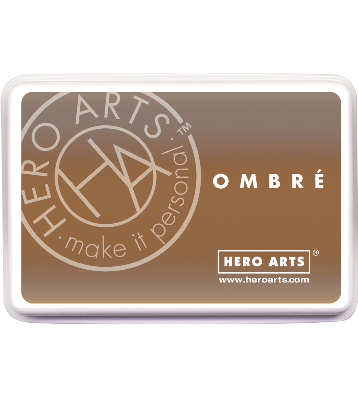 Hero Arts Ombre Ink Pad-Sand To Chocolate Brown