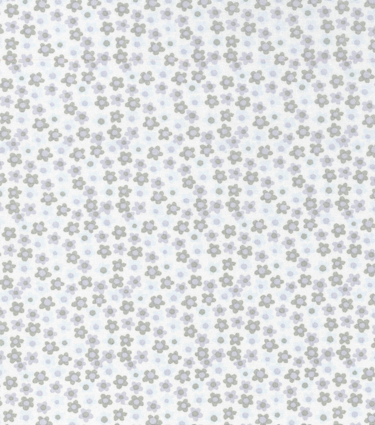 Keepsake Calico Cotton Fabric-Tiny Floral on White