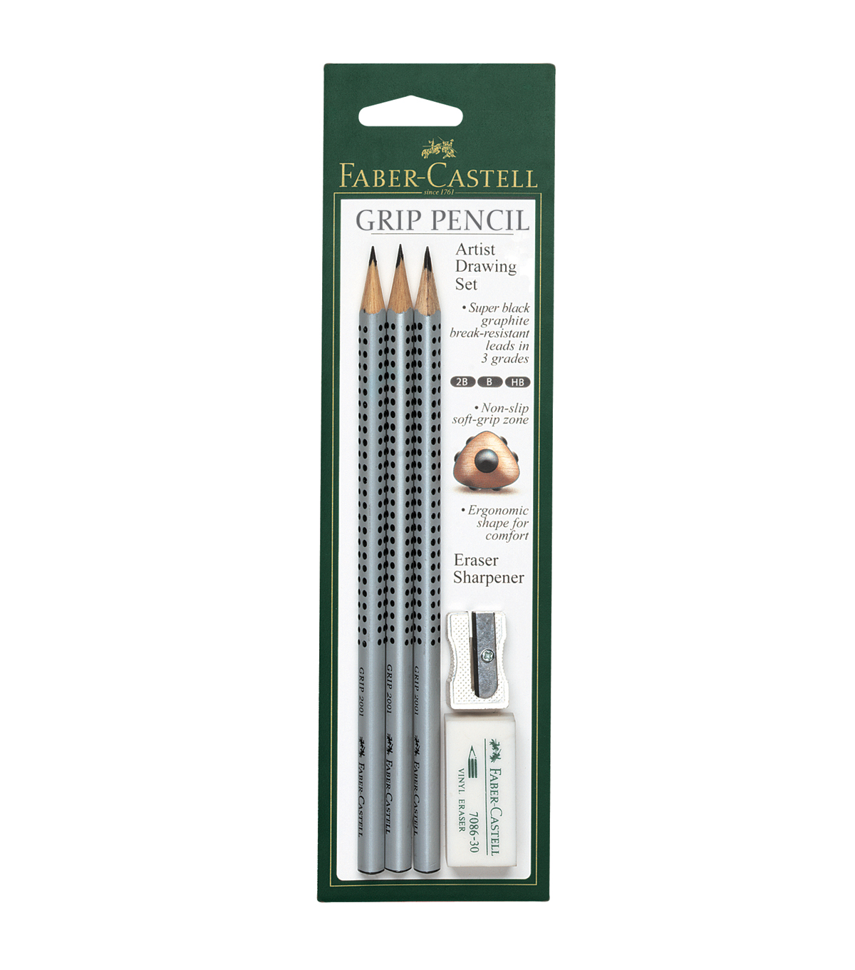Faber Castell Grip Pencil Sketch Set