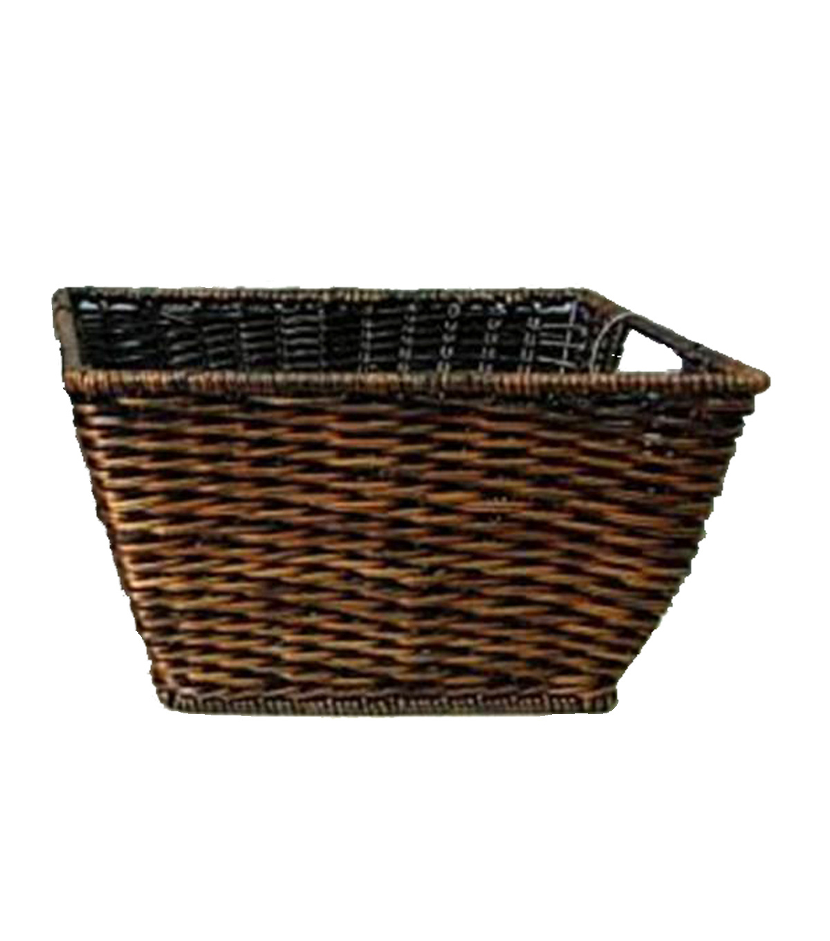 Organizing Essentials Woven Rectangle Fern Basket