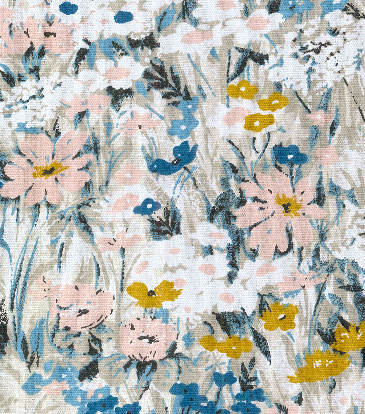 Home Essentials Decor Fabric-Tuileries Garden Quartz