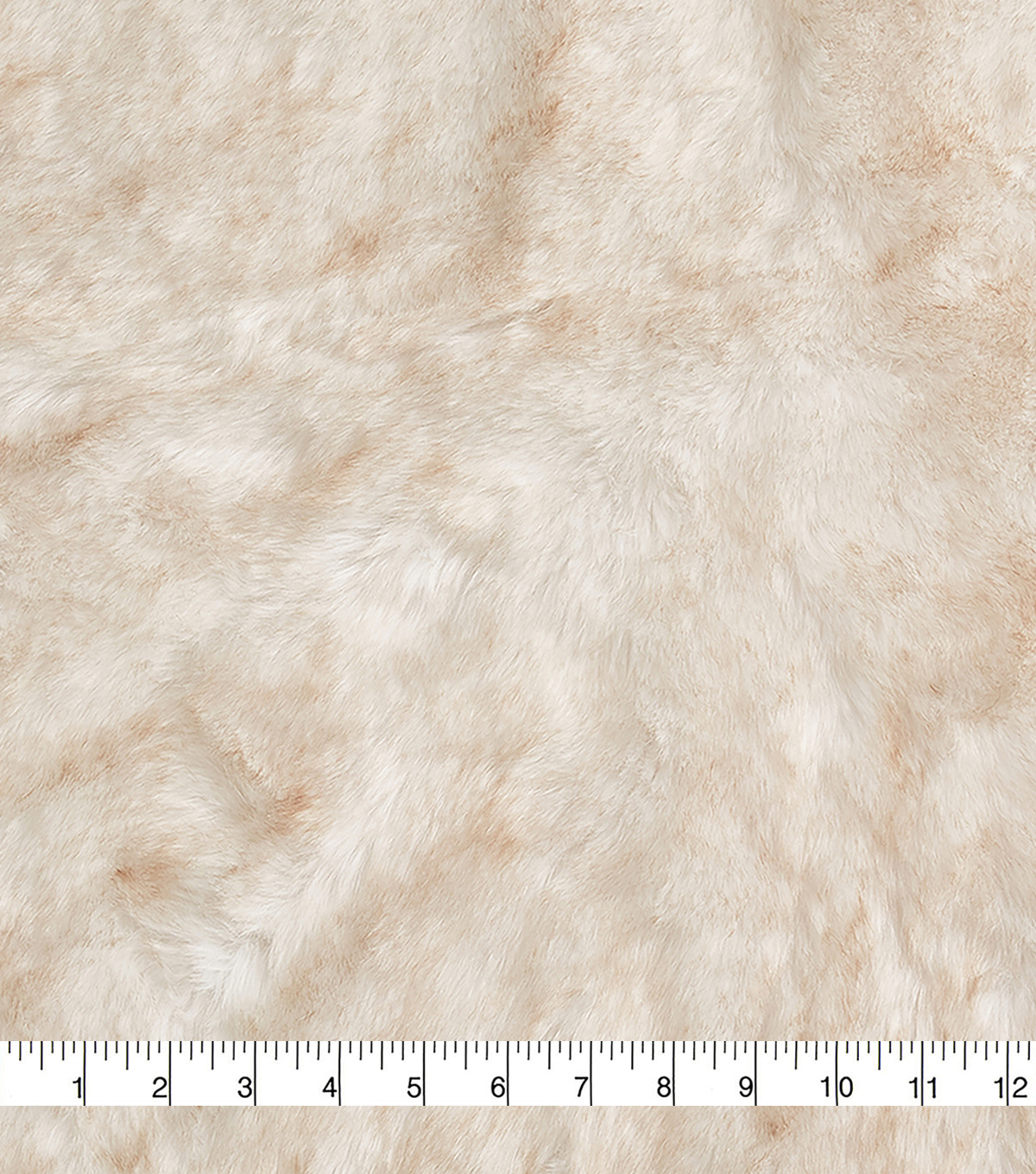 Fashion Faux Fur Fabric 57\u0022-Eskimo Cream Brown