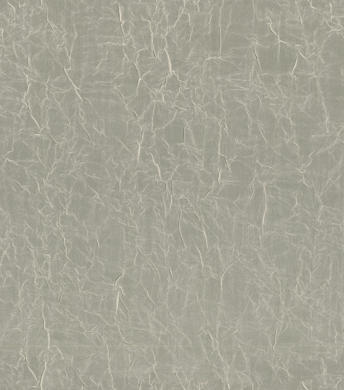 Signature Series Sheer Crushed Voile Fabric 106\u0022-Bone