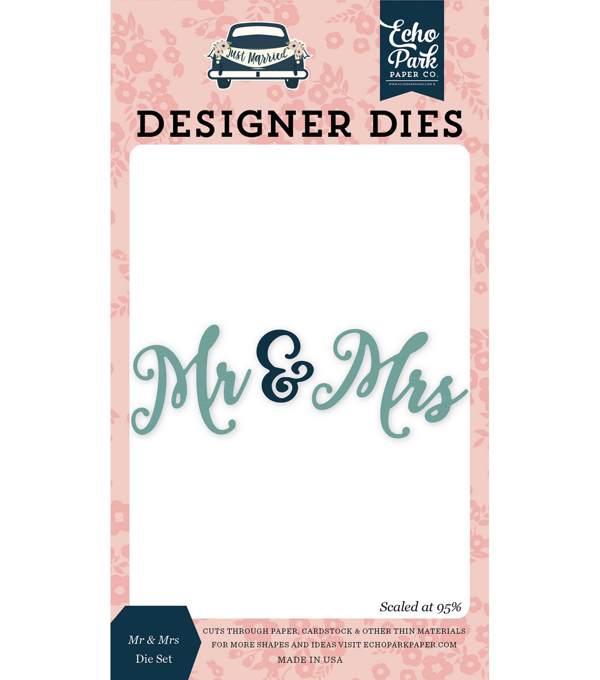 Echo Park Dies-Mr & Mrs