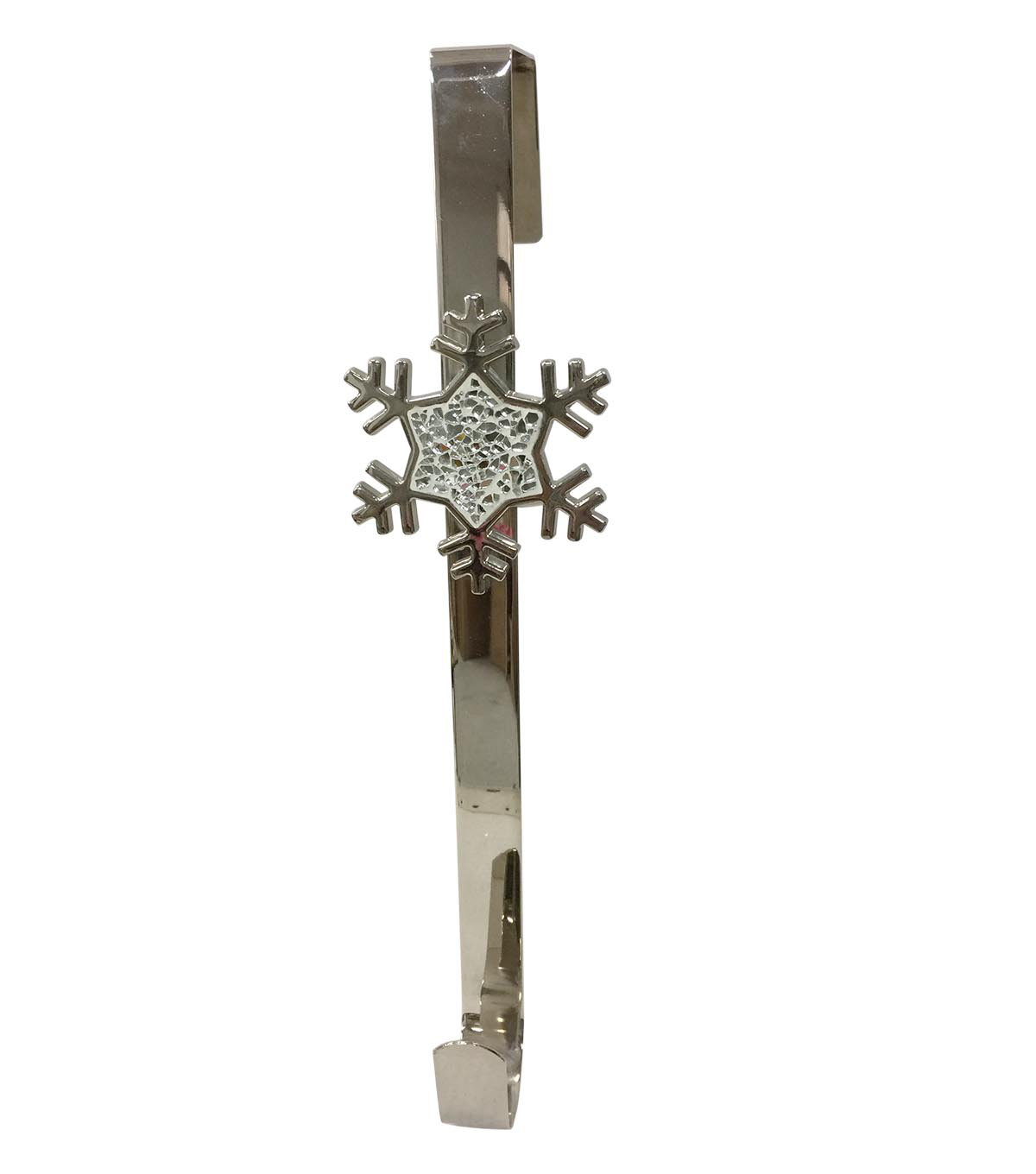 Blooming Holiday Christmas 16\u0027\u0027 Snowflake Wreath Hanger-Silver