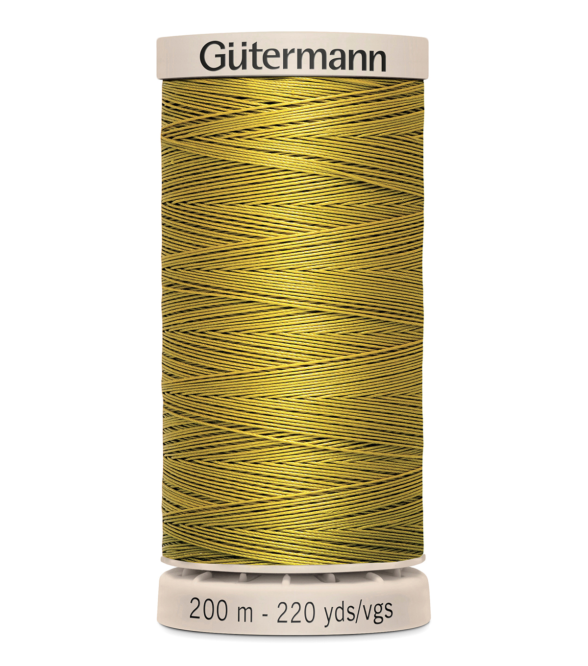 Gutermann Hand Quilting Thread 200 Meters (220 Yrds)-Primary, Old Gold #956