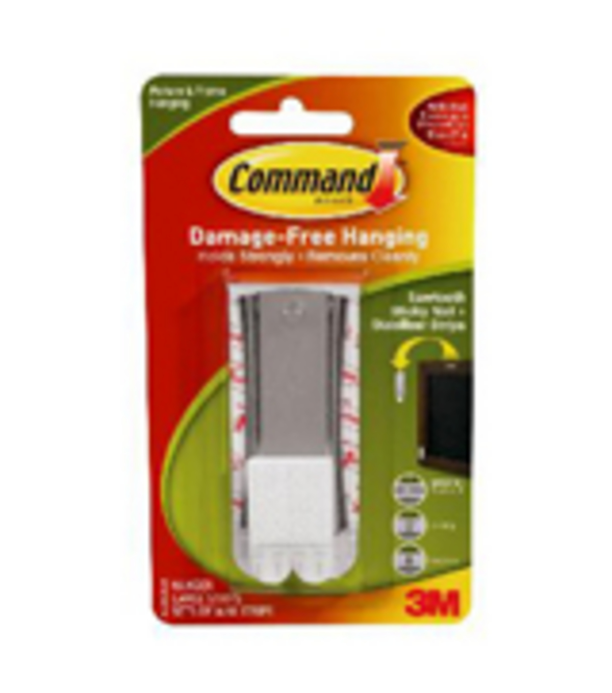 Command Sticky Nail Sawtooth Hanger