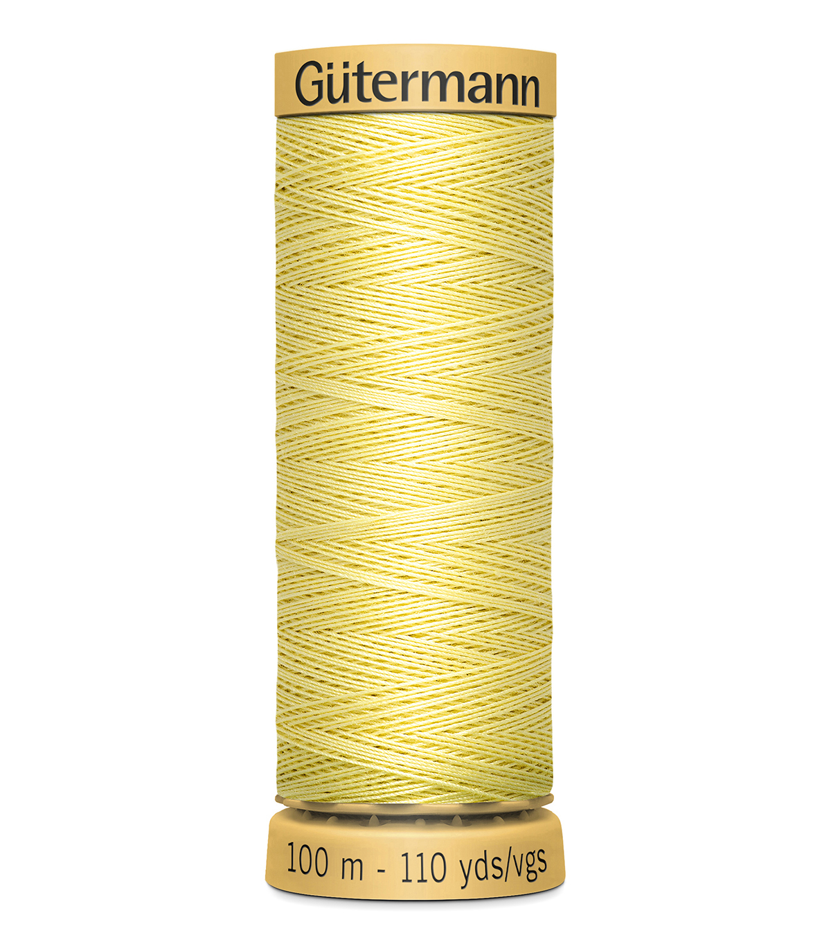 Gutermann Sew All Polyester Thread 110 Yards-Oranges & Yellows , Light Yellow